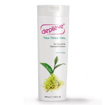 Depileve Tea Tree Gel - Gyantázás utáni kezelésre 500 ml
