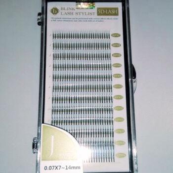5D műszempilla D ív 0.07x7-14mm