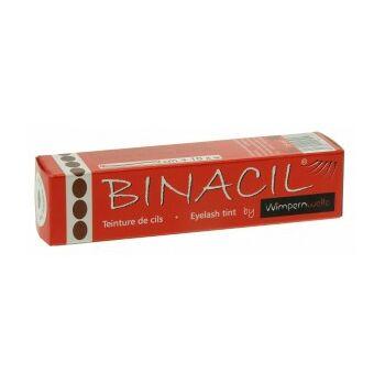 Binacil tartós szemöldök és szempilla festék - sötét barna