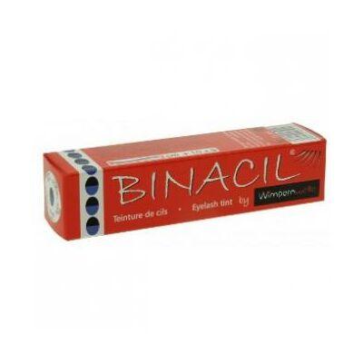 Binacil tartós szemöldök és szempilla festék - kékesfekete