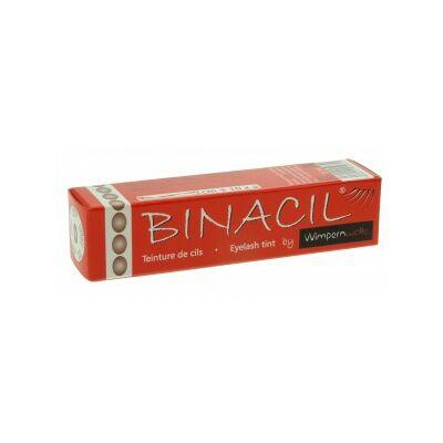 Binacil tartós szemöldök és szempilla festék - világos barna