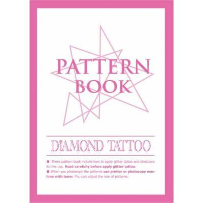 Sablon füzet glitter tetováláshoz