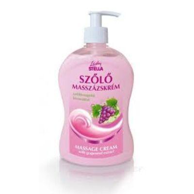 Lady Stella Szőlő Masszázskrém + C-vitamin 500 ml